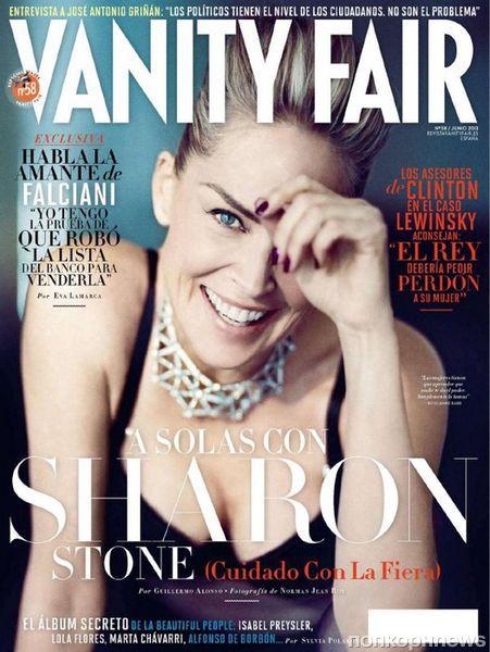 Шэрон Стоун в журнале Vanity Fair Испания. Июнь 2013