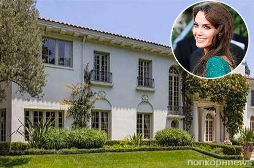 Анджелина Джоли хочет купить особняк в Калифорнии за 25 млн долларов