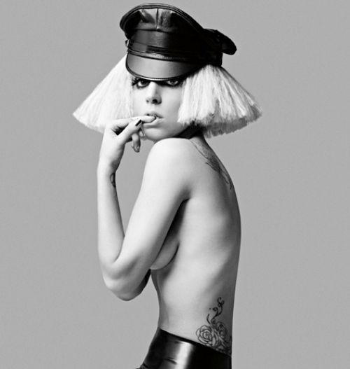 Промо-фото Lady GaGa для нового альбома