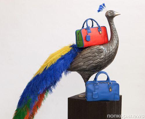 Новая коллекция сумок Acid от Loewe