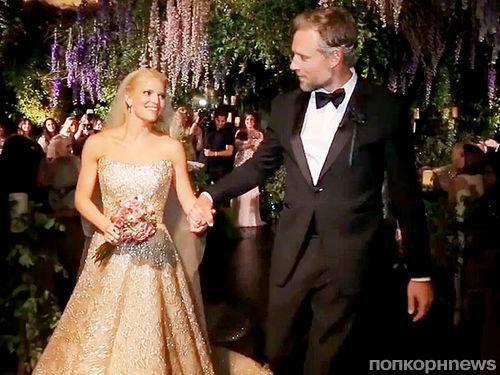 Видео со  свадьбы Джессики Симпсон и Эрика Джонсона