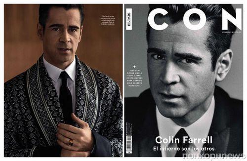 Колин Фаррелл в фотосессии для El Pais Icon