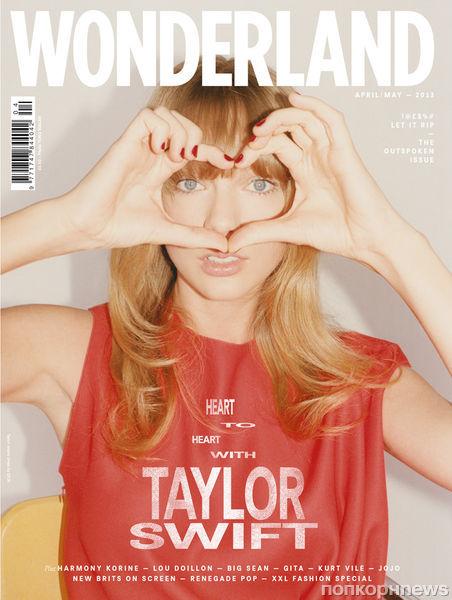 Тейлор Свифт в журнале Wonderland. Апрель / май 2013