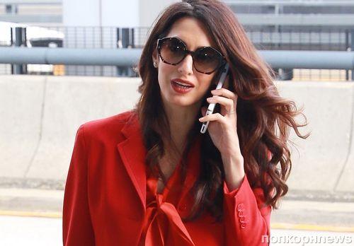 Амаль Клуни вернулась к работе через 3 месяца после родов