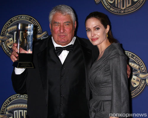 Анджелина Джоли на вручении наград Американского общества кинематографистов