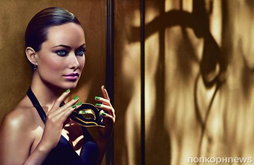Оливия Уайлд в рекламной кампании Revlon