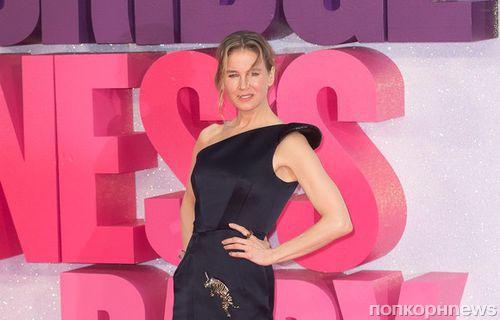 Рене Зеллвегер привела бойфренда на премьеру «Бриджит Джонс 3» в Лондоне
