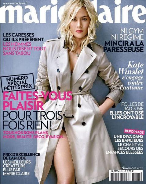 Кейт Уинслет в журнале Marie Claire. Франция. Ноябрь 2011