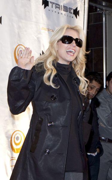 Бритни Спирс в ночном клубе Монреаля