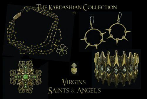 Сестры Кардашиан выпускают линию украшений