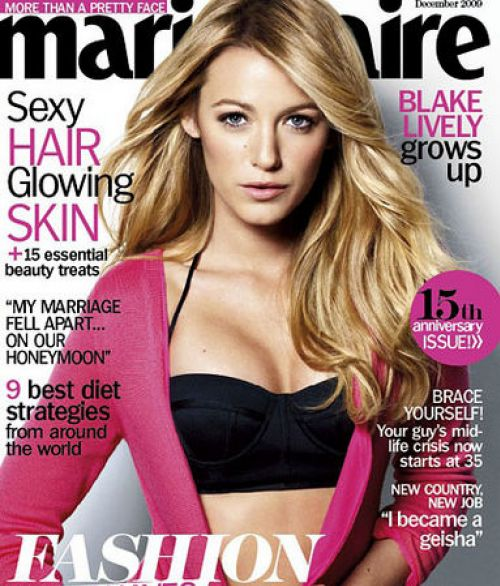 ����� ������ � ������� Marie Claire. ������� 2009