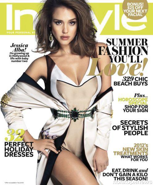 Джессика Альба в журнале InStyle. Австралия. Январь 2012