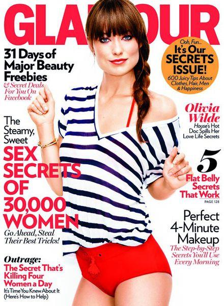 Оливия Уайлд в журнале Glamour. Июнь 2011