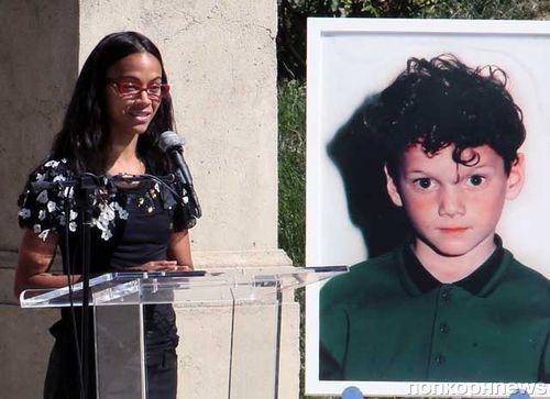 В Лос-Анджелесе установили памятник погибшему Антону Ельчину