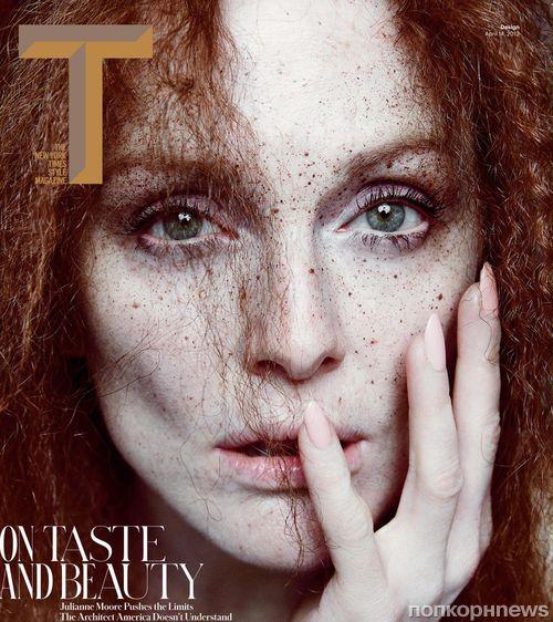 Джулианна Мур в журнале T Magazine. Апрель 2013
