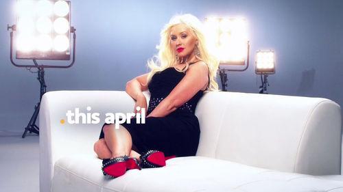 """Кристина Агилера в промо-ролике шоу """"The Voice"""""""