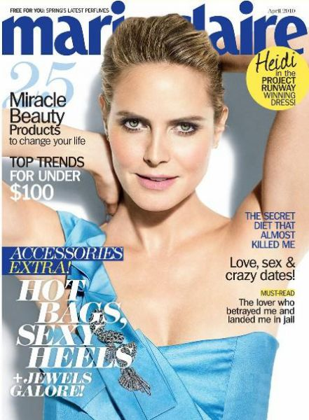 ����� ���� � ������� Marie Claire.������ 2010