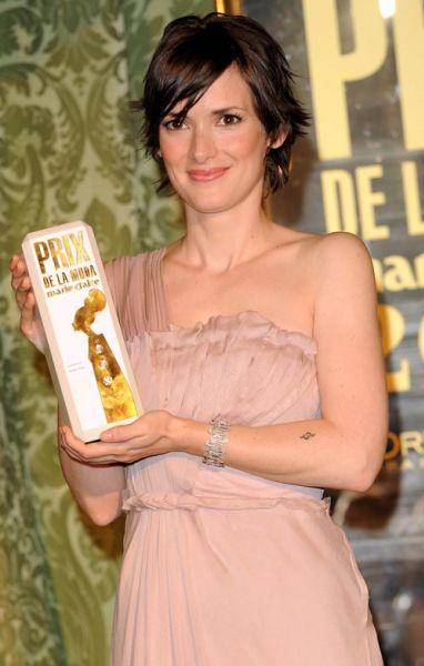 Вайнона Райдер на Prix de la Moda 2008 Awards