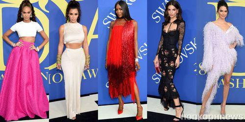 Фото: Ким Кардашьян, Эмбер Херд и другие звезды на «модном Оскаре» CFDA Awards 2018