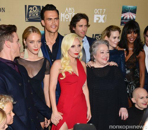 Леди Гага, Мэтт Бомер, Наоми Кэмпбелл и другие звезды на премьере «Американской истории ужасов: Отель»