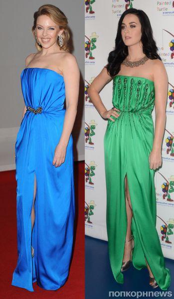 Fashion battle: Кайли Миноуг и Кэти Перри