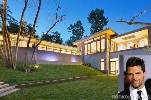 Рики Мартин приобрел особняк в Беверли Хиллз за 13,5 млн долларов