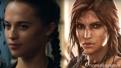 Видео: трейлер «Лары Крофт» с Алисией Викандер сравнили со сценами из оригинальной игры