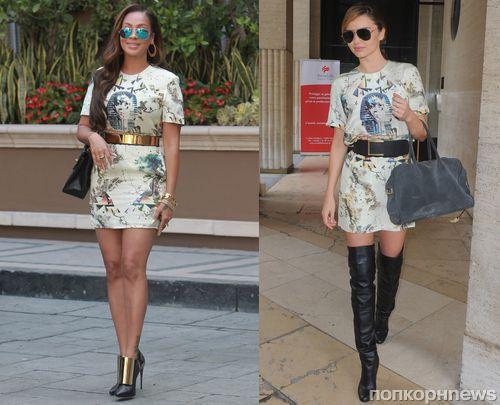Fashion battle: Лала Энтони и Миранда Керр