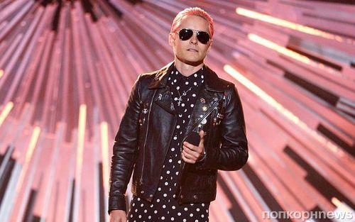 Джаред Лето приехал на MTV VMA 2015 с розовыми волосами