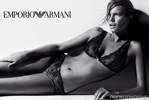 Осенне-зимняя рекламная кампания нижнего белья Emporio Armani