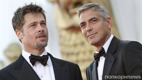 Пластические хирурги признали Брэда Питта и Джорджа Клуни самыми красивыми мужчинами в мире