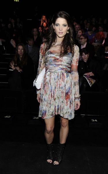 Эшли Грин на показах Dolce & Gabbana и Gucci