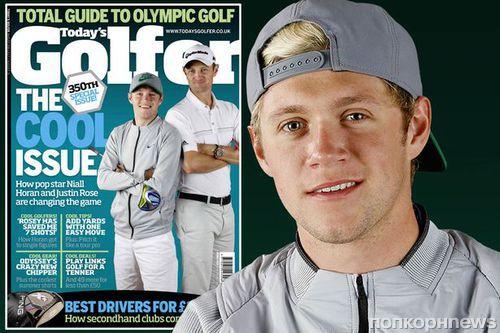 Найл Хоран снялся для обложки журнала о гольфе