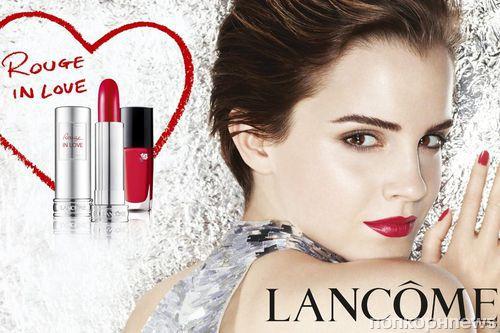 Первый взгляд на Эмму Уотсон для новой коллекции косметики Lancôme
