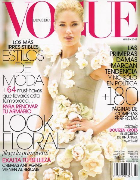 Даутзен Крус в журнале Vogue Latin. Март 2009