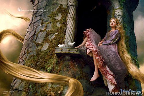 Тейлор Свифт в рекламе Disney Parks