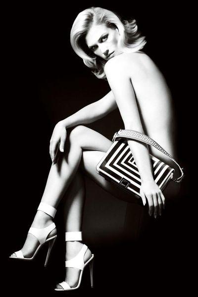 Звезда сериала «Безумцы» в рекламе Versace