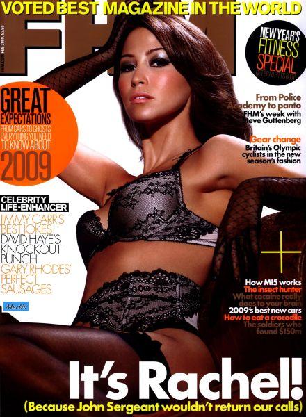 Рэйчел Стивенс в журнале FHM. Февраль 2009