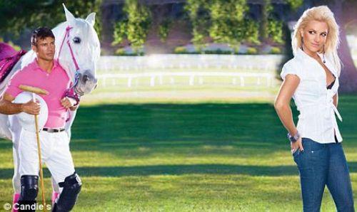Бритни Спирс в рекламе Candie Осень/Зима 2010