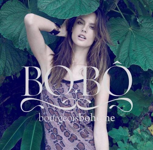 Алессандра Амбросио для рекламы Bo.Bo. Лето 2010