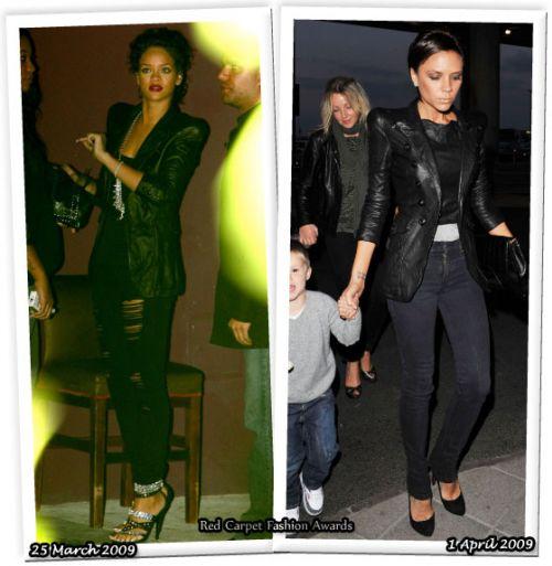Fashion battle: Рианна и Виктория Бэкхем