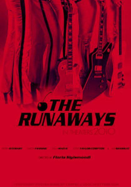 """Первый тизер-постер фильма """"The Runaways"""""""
