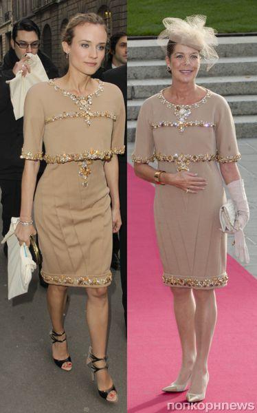 Fashion battle: Дайан Крюгер и принцесса Каролина
