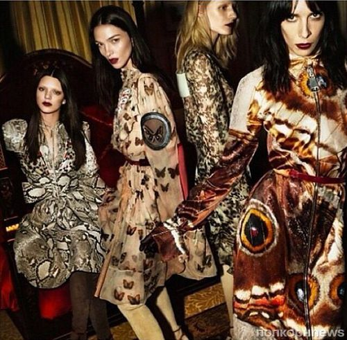 Кендалл Дженнер в рекламной кампании Givenchy