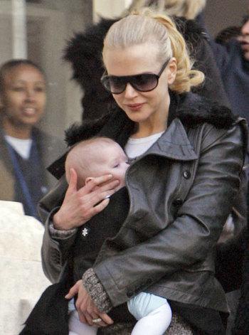 Николь Кидман хочет быть мамой, а не актрисой