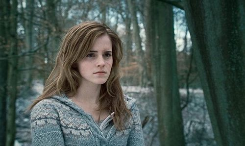 "Эмма Уотсон о съемках в ""Гарри Поттере"""