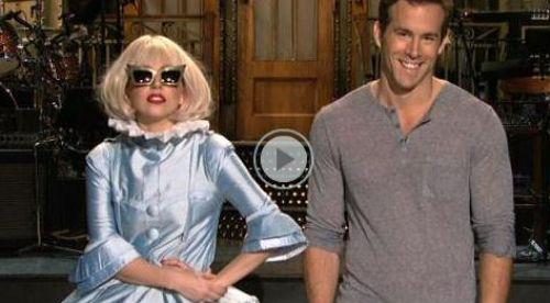 Промо-видео: Lagy Gaga и Райан Рейнольдс для SNL