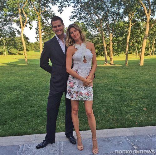 Жизель Бундхен опровергает слухи о разводе с Томом Брэди