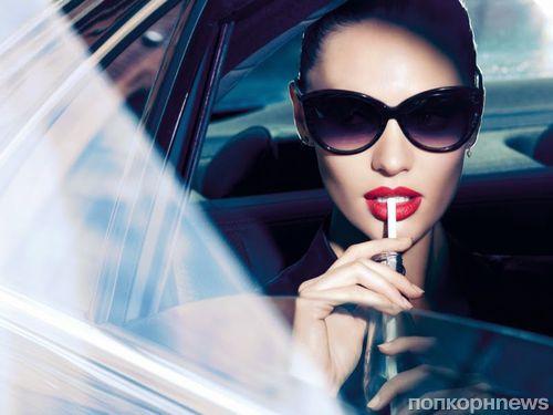 Кэндис Свейнпол в новой рекламной кампании Max Factor. Осень 2014