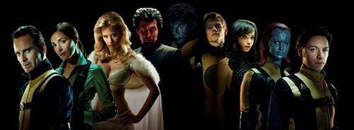 """Первый кадр фильма """"Люди Икс: Первый класс"""""""